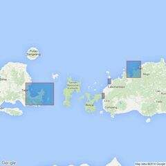 895 Plans in Sumbawa and Flores Admiralty Chart