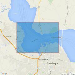 921 Pelabuhan Surabaya and Approaches Admiralty Chart