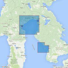 2640 Ports in Teluk Bone Admiralty Chart