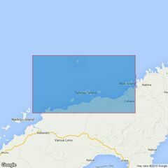 384 Ravi Ravi Point to Mali Island Admiralty Chart