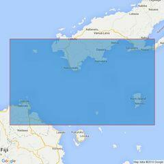 750 Charybdis Reef to Koro Island Admiralty Chart