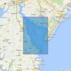 2564 Delaware Bay Admiralty Chart