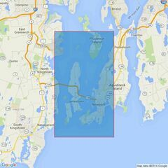 2730 Narragansett Bay including Newport Harbor Admiralty Chart