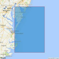 2861 Delaware Bay to Cape Hatteras Admiralty Chart