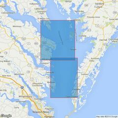 2920 Chesapeake Bay New Point Comfort to Point No Point Admiralty Chart
