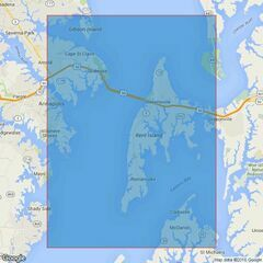 2921 Chesapeake Bay Point No Point to Love Point Admiralty Chart
