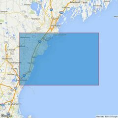 3676 Cape Elizabeth to Portsmouth Harbor Admiralty Chart