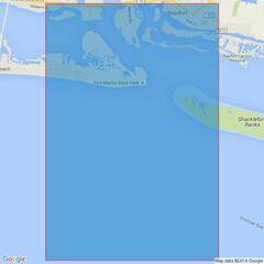 3686 Approaches to Morehead City Admiralty Chart