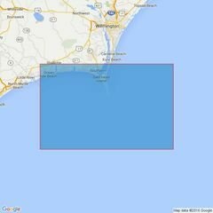 3687 Outer Approaches to Cape Fear River including Frying Pan Shoals Admiralty Chart