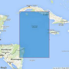 1218 Cuba to Miskito Bank Admiralty Chart