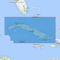 2579 Cuba Admiralty Chart