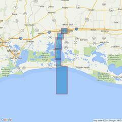 3190 Calcasieu Pass and Approaches to Lake Charles Admiralty Chart
