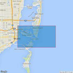 3698 Miami Harbor Admiralty Chart