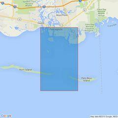 3841 Pascagoula Harbor Admiralty Chart