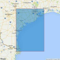 3849 Brazos Santiago to Galveston Bay Admiralty Chart