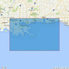 3851 Ship Shoal to Pensacola Bay Admiralty Chart