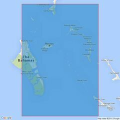 3912 North East Providence Channel and Tongue of the Ocean Admiralty Chart