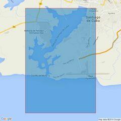 443 Santiago Harbour Admiralty Chart