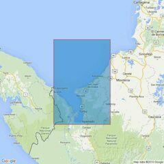 1278 Isla Fuerte to Cabo Tiburon including Golfo de Uraba Admiralty Chart