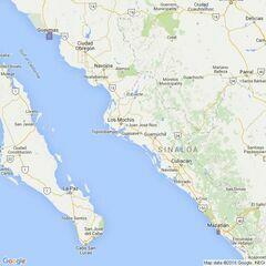 42 Guaymas and Mazatlan Admiralty Chart