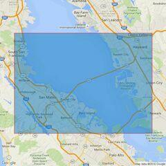 592 San Francisco BaySouthern Part Admiralty Chart