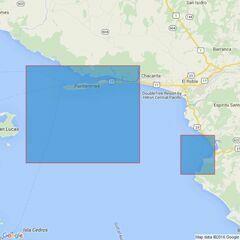 1931 Golfo de Nicoya Admiralty Chart