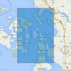 80 Rosario Strait Admiralty Chart
