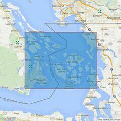4951 Juan de Fuca Strait to Strait of Georgia Admiralty Chart