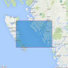 4928 British columbia Hecate Strait Admiralty Chart