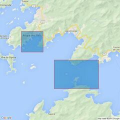 433 Approaches to Angra dos Reis and Tebig Oil Terminal Admiralty Chart