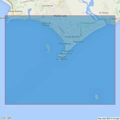 3703 Bahia de Maldonado and Isla de Lobos Admiralty Chart