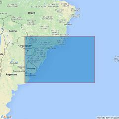 4201 Southeast Coast of South America Admiralty Chart