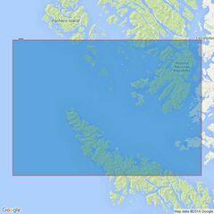 4264 Paso del Mar to Istotes Evangelistas Admiralty Chart