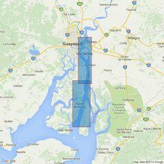 512 Ecuador, Rio Guayas and Guayaquil Admiralty Chart