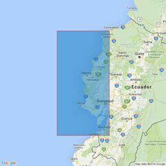 2257 Golfo de Guayaquil to Bahia Buenaventura Admiralty Chart