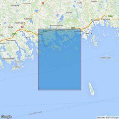 3814 Baltic Sea - Gulf of Finland, Tiiskeri to Kaunissaari Admiralty Chart