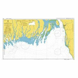 859 Raimangal River to Elephant Point Admiralty Chart