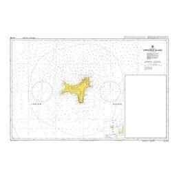 AUS608 Christmas Island Admiralty Chart
