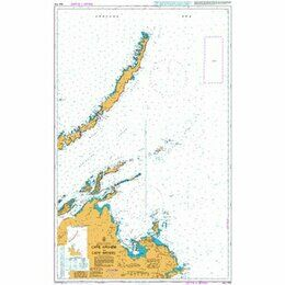 AUS715 Cape Arnhem to Cape Wessel Admiralty Chart