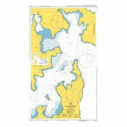 AUS201 Port Jackson (Eastern Sheet) Admiralty Chart