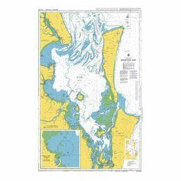 AUS236 Moreton Bay Admiralty Chart