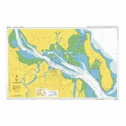AUS245 Port of Gladstone Admiralty Chart