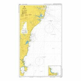 AUS808 Jervis Bay to Port Jackson Admiralty Chart