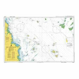 AUS823 Percy Isles to Mackay Admiralty Chart
