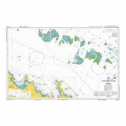 AUS825 Whitsunday Island to Bowen Admiralty Chart