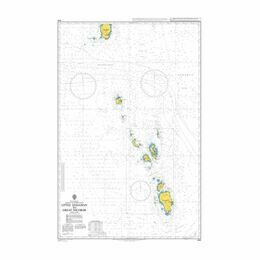 AUS840 Arden Islet to Bramble Cay Admiralty Chart