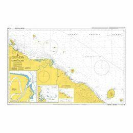 AUS388 Karkar Island to Kairiru Island Admiralty Chart
