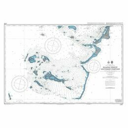 NZ8248 Haapai Group  Southern Portion Admiralty Chart