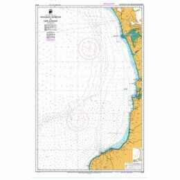 NZ43 Manukau Harbour to Cape Egmont Admiralty Chart