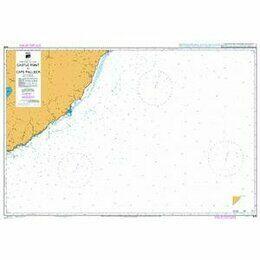 NZ58 Castle Point to Cape Palliser Admiralty Chart